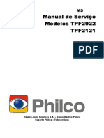 Philco TPF 2922 Manual de Serviço