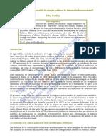 RICS 179 Los Efectos de Las Investigaciones en La Política.docx; Monografías en Torno a Los Vínculos Entre Ciencias Sociales y Políticas Públicas