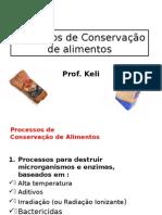 Processos de Conservao de Alimentos