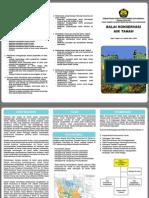Leaflet Balai Koservasi Air tanah