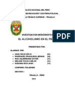 Monografia El Alcoholismo en El Peru