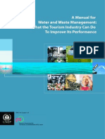 A Manual for Water and Waste Management - What the Tourism Industry Can Do to Improve Its Performance