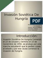 Invasión Soviética de Hungría