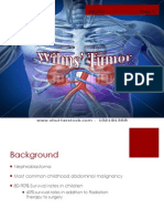 wilms' tumor 2014*