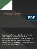 Precios Ramsey