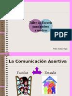 La Comunicación Asertiva Familia-escuela 2