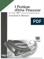 Pentium Overdrive to 486 Manual