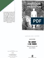 UEXKüLL, Jacob Von - Dos Animais e Dos Homens