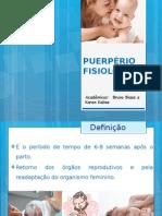 PUERPÉRIO FISIOLÓGICO