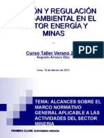 Etapas de La Actividad Minera Clase 1