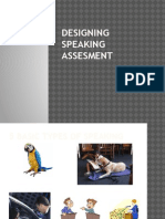 Designing Speaking Assesment ( Recovery)
