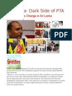 Sri Lanka Dark Side of PTA