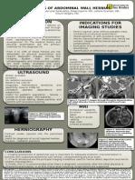 Diagnosis of Abdominal Wall Hernias
