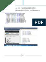 Informe Arquitectura de Control de Giro y Velocidad de Motor