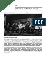 Guía. Proyección Política de La Dictadura