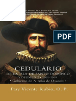Vol 158. Cedulario de La Isla de Santo Domingo v2 - Gobierno de Frey Nicolas de Ovando