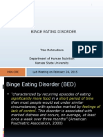 Binge Eating Diaorder