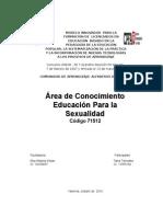 Area de Educación Para La Sexualidad