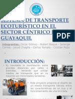 Sistema de Transporte Ecoturistico en El Sector Cã‰Ntrico