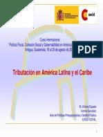 Tributacion en America Latina Antigua