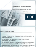 Uncertainty Management in ES