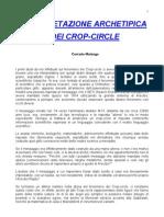 Crop Circles - Interpretazione Achetipica (Corrado Malanga)