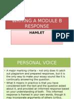 Writing a Module b Response
