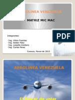 MIC MAC Aerolinea Venezuela