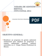 PROGRAMA DE GESTION AMBIENTAL INSTITUCIONAL 20-08-2014.ppt