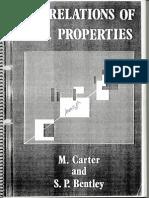 Correl Soils Properties Carter&Bentley
