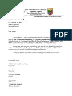 D.O.Letter
