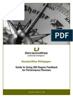 DecisionWise Whitepaper Guide to Using 360s for Performance Reviews