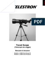 Travel Scope Instruction Manual Italian