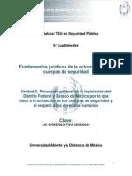 Unidad 3.Panorama General de La Legislacion Del Distrito Federal y Estado de Mexico
