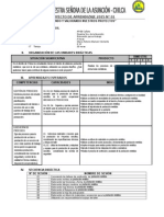 1 Proyecto de Aprendizaje 5 ept-2015