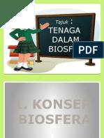 powerpoint TENAGA DALAM BIOSFERA