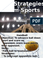 Team Sports Rules PPT