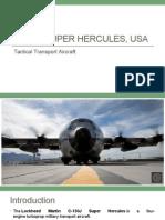 C-130J Hercules, USA - Tactical Transport Aircraft.pptx