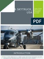 C-145A, USA - Skytruck Light Twin-Engine Aircraft.pptx