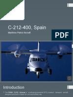 C-212-400, Spain - Maritime Petrol Aircraft.pptx