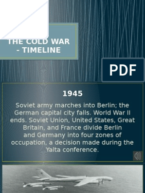The Cold War - Timeline