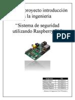 Sistema de Vigilancia Tutorial Rpi