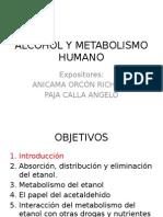 Alcohol y Metabolismo en el hombre
