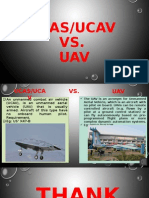 UCAS/UCAV Vs UAV