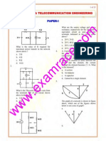 IES Electronics 2007 Paper 1