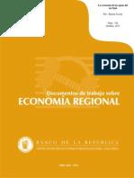 La Economia de Las Aguas Del Rio Sinu