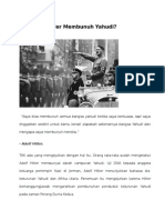 Mengapa Hitler Membunuh Yahudi