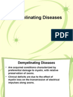 Demyelinating Diseases Pathology SY 2008-09