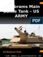 M1 Abrams Main Battle Tank – US ARMY