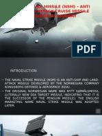 Naval Strike Missile (NSM) - Anti Ship/Land Attack curise Missile, Norway
